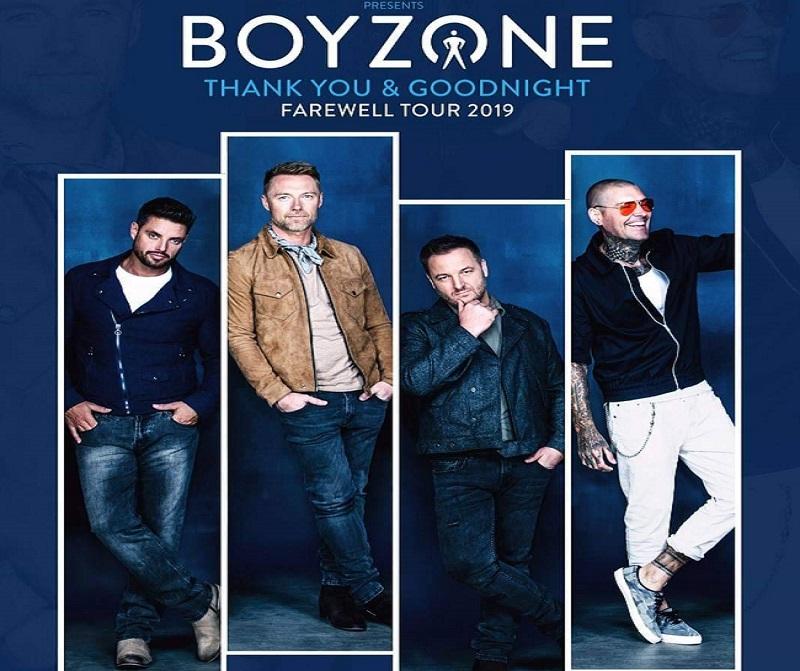 """ร่วมระเบิดให้สุดเสียง กับคอนเสิร์ตครั้งสุดท้าย """"BOYZONE THANK YOU & GOODNIGHT FAREWELL TOUR 2019"""""""