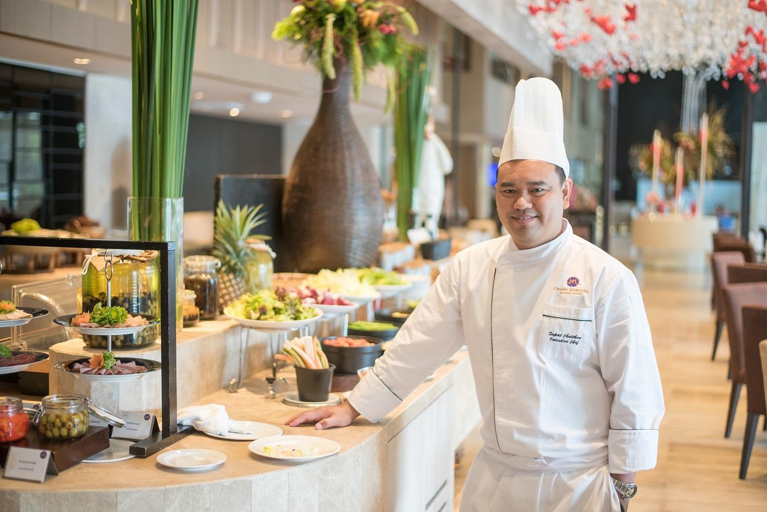 เชฟใหญ่ คนรุ่นใหม่ ไอเดียล้ำ รังสรรค์ภาพรวมอาหารของโรงแรมแกรนด์ เมอร์เคียว กรุงเทพ ฟอร์จูน