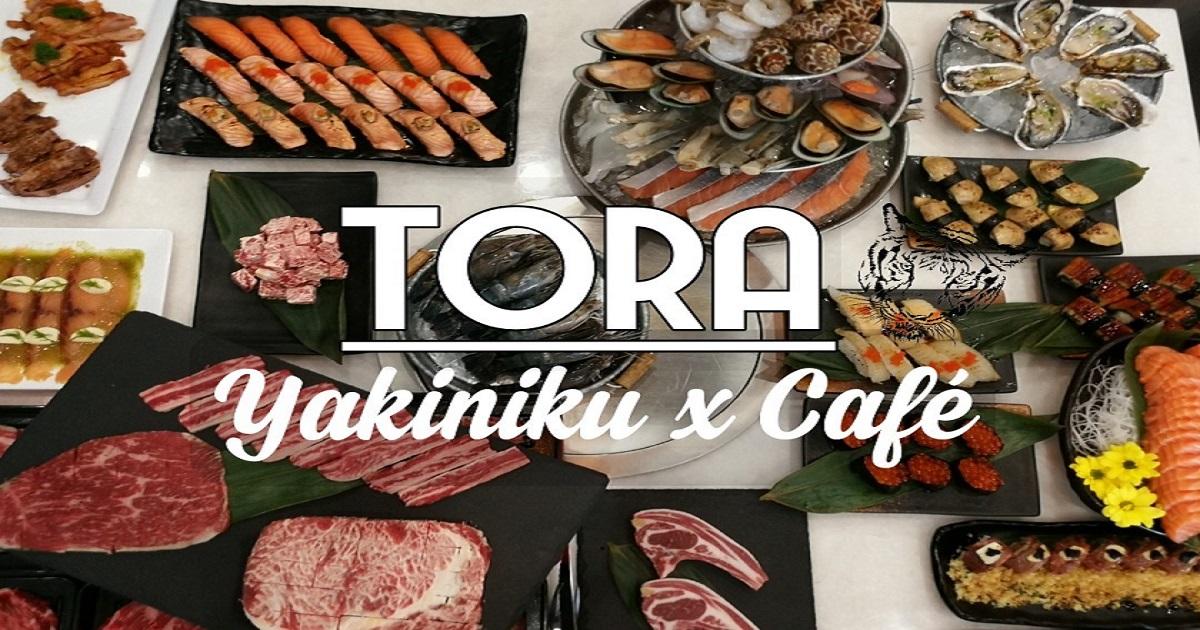TORA Yakiniku x Café  Buffet ปิ้ง-ย่าง ดีๆ ของเจแปนฟู้ดเลิฟเวอร์